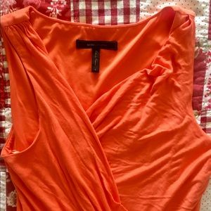Bright mango tank dress BCBG Size S